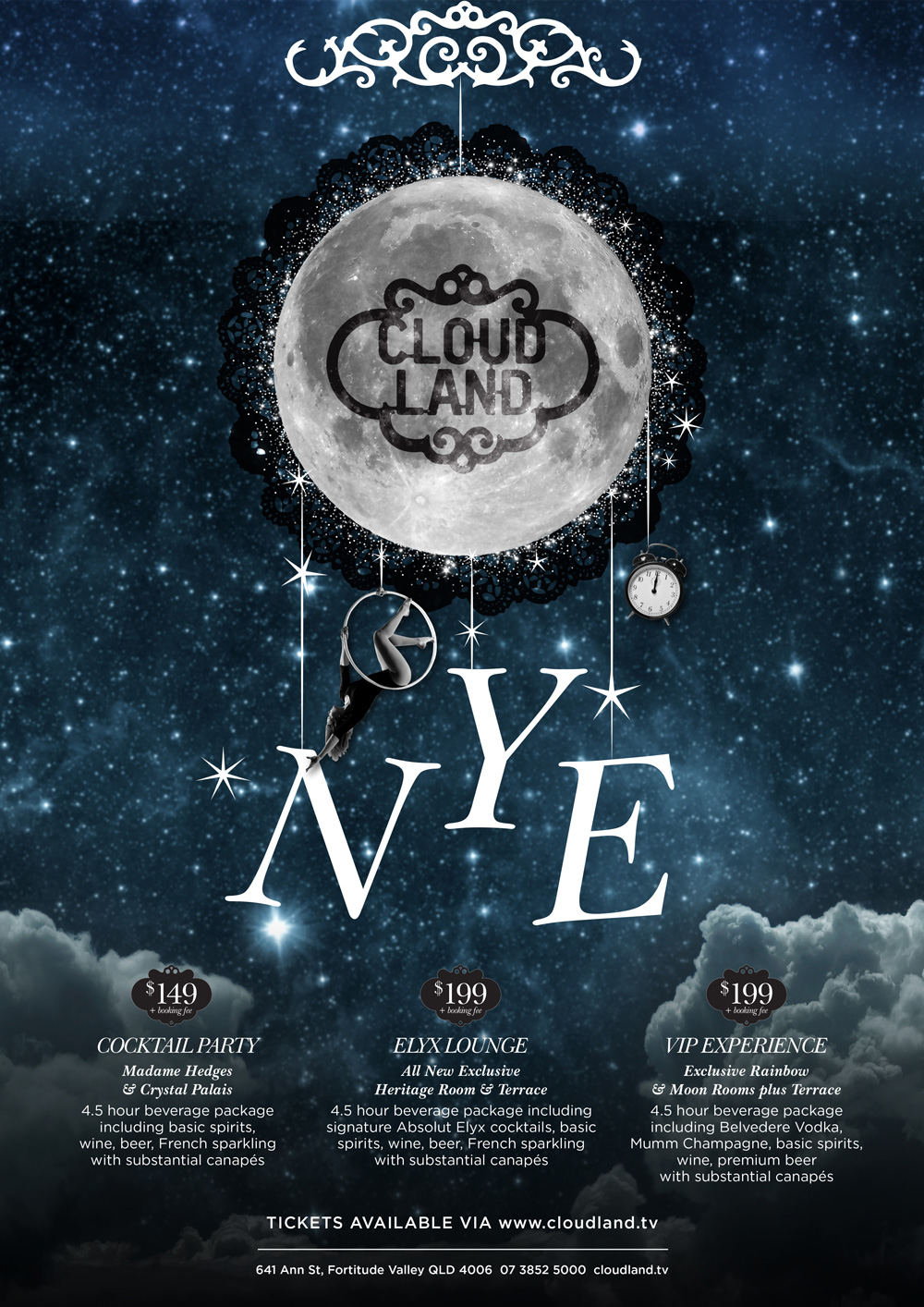 Cloudland New Year's Eve 2019