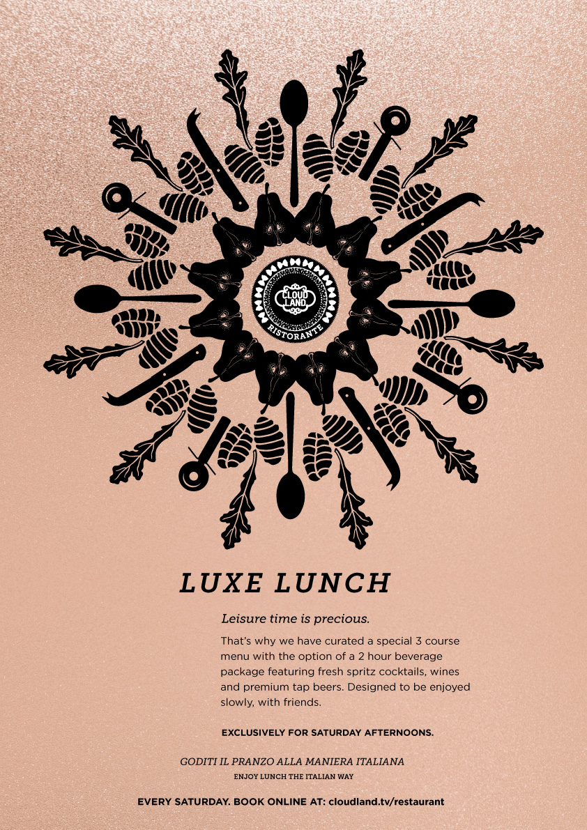Cloudland Luxe Lunch