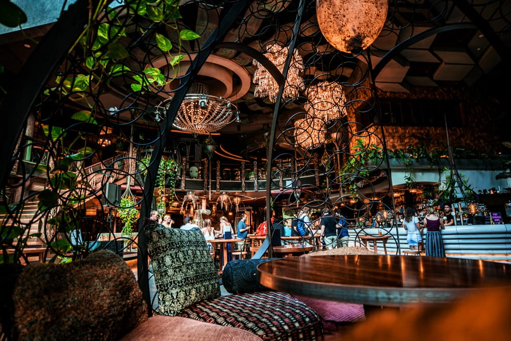 Cloudland Crystal Palais Cocktail Bar Booths Brisbane
