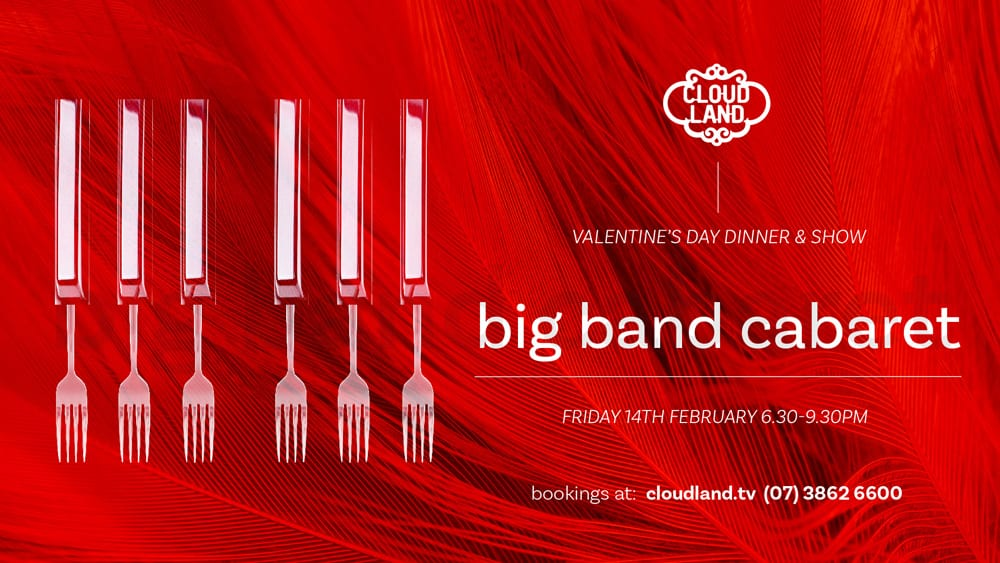 Cloudland Cabaret Big Band Dinner and Show