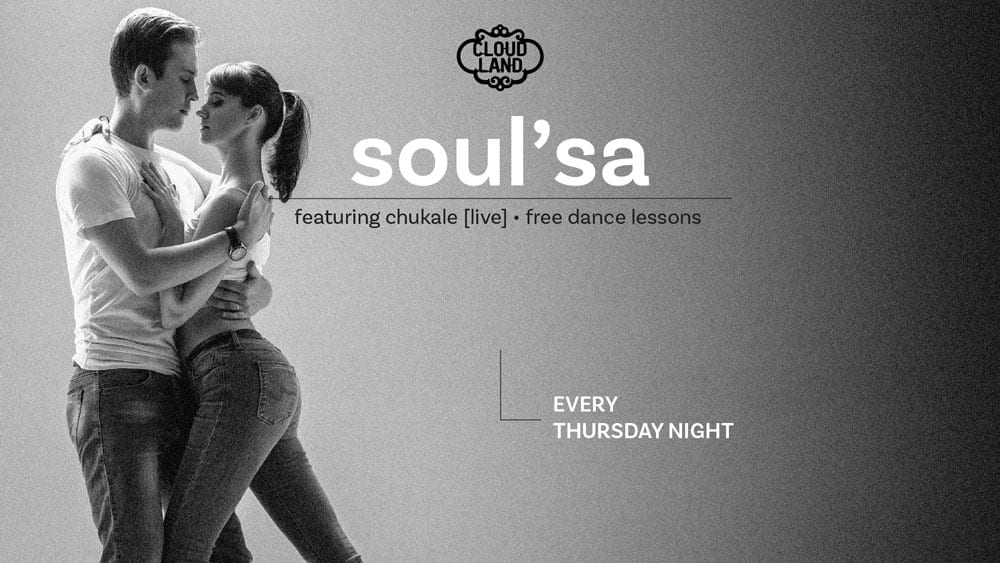 Soul'Sa Salsa Night at Cloudland Brisbane