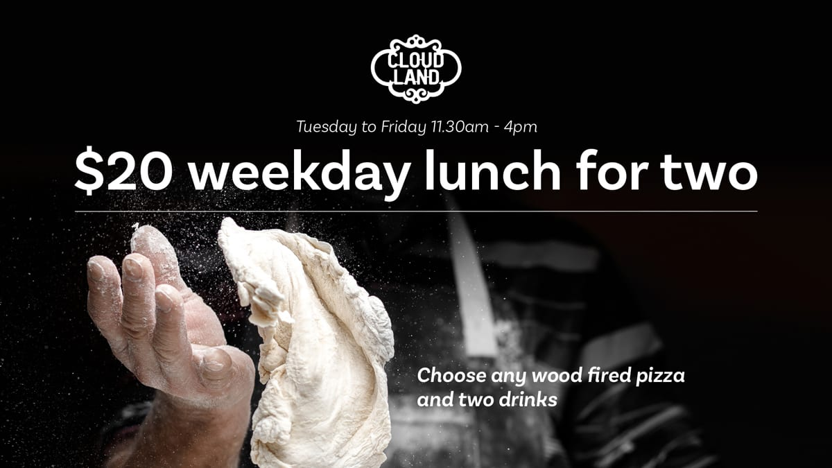 Cloudland $20 Weekday Lunch for Two