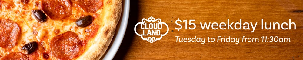 Cloudland $15 Weekday Lunch