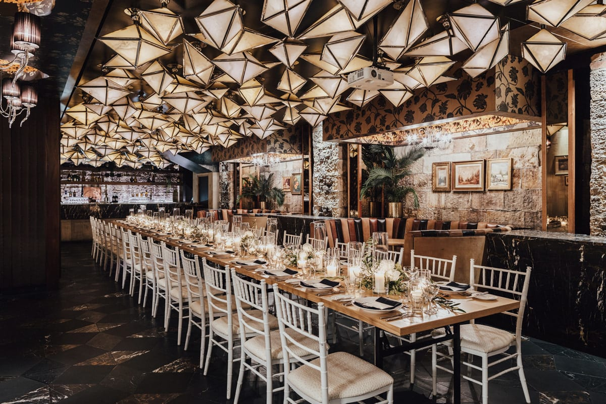 Cloudland Family Style Dining Wedding Experience